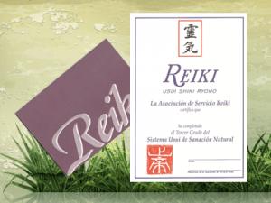 Curso Terapéutico de Reiki Nivel III @ Sede Asociación AIREE